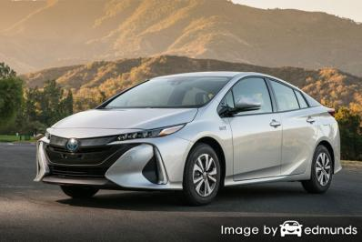 Insurance quote for Toyota Prius Prime in Los Angeles