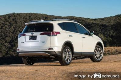 Insurance quote for Toyota Rav4 in Los Angeles