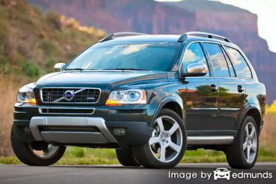Insurance quote for Volvo XC90 in Los Angeles